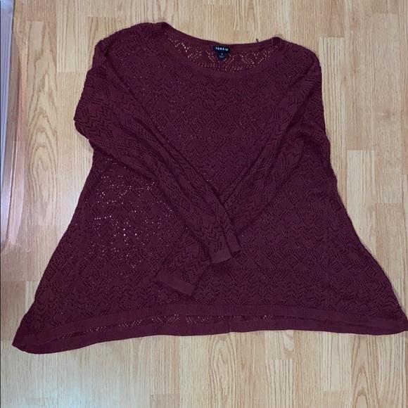 Loose Knit Torrid Sweater